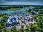 South Beach Marina  Village is close to the Bluff Villas in Sea Pines