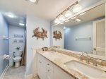 Master Bathroom with Shower Only at 1798 Bluff Villa