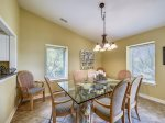 Dining Area at 1812 Bluff Villa