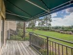 Walk Out Deck Leads Right to the Water at 1824 Beachside Tennis