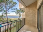Balcony off Master Bedroom at 1877 Beachisde Tennis
