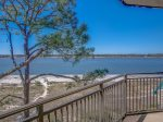 Breathtaking Views of Calibogue Sound from Living Room at 1879 Beachside Tennis