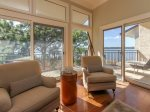 Living Room with Views of Calibogue Sound at 1882 Beachside Tennis