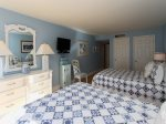 Guest Bedroom at 1883 Beachside Tennis