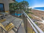 Balcony with Wonderful Views at 1883 Beachside Tennis