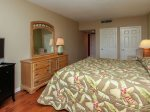 Master Bedroom with Flat Screen TV at 1887 Beachside Tennis