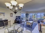 Living Room with Views of Calibogue Sound at 1890 Beachside Tennis