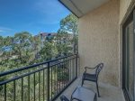 Private Balcony off Master Bedroom with Direct Ocean Views at 1898 Beachside Tennis