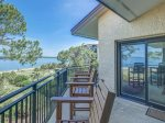 Balcony with Water Views at 1898 Beachside Tennis