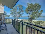 Large Balcony at 1898 Beachside Tennis in Sea Pines