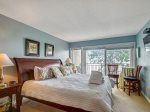 Master Bedroom with Private Balcony at 1900 Beachside Tennis