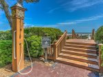 The Turtle Lane Club is a private, gated oceanfront complex in Sea Pines