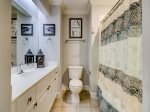 Guest Bathroom at 205 North Shore Place