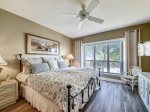 Master Bedroom with King Bed at 206 Windsor Place
