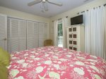 Queen Guest Room Features Access to Private Deck at 20 Gunnery Lane