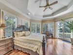 Master Bedroom on Main Level at 20 Sandhill Crane
