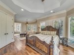 Spacious Master Bedroom with King Bed at 20 Sandhill Crane - Hilton Head Island