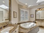Master Bathroom at 20 Sandhill Crane