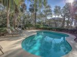 Pool and Deck with Ocean Views at 20 Sandhill Crane