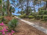 Path to the Beach from 20 Sandhill Crane in Sea Pines