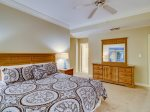 Master Bedroom with Private Access to Shared Hall Bath at 2104 Sea Crest