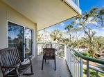 Balcony with Ocean Views at 210 Windsor Place