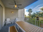 Balcony Offers a Glimpse of the Ocean from 2112 Sea Crest