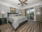 Master Bedroom with King Bed and Balcony Access at 2112 Sea Crest