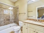 Guest Bathroom with Shower Tub Combo at 21 Ruddy Turnstone