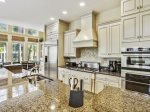 Fully equipped Kitchen at 21 Ruddy Turnstone features stainless steel appliances