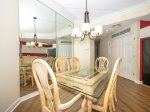 Dining Area with Seating for Six at 2206 Sea Crest