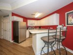 Fully Equipped Kitchen with Breakfast Bar at 2206 Sea Crest