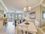 Dining Area with Seating for Six at 2208 Sea Crest