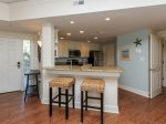 Kitchen with Breakfast Bar at 2213 Windsor II