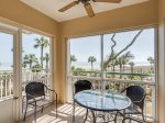 Screened Porch with Direct Ocean Views at 2220 Windsor II