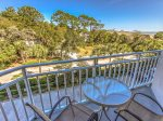 Private Balcony at 2307 Sea Crest