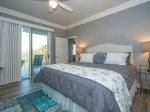 Master Bedroom with King Bed at 2312 Sea Crest