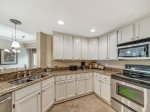 Updated Kitchen at 2313 Windsor II has plenty of counter space