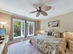Master Bedroom in 2313 Windsor II is spacious and bright