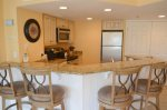 Kitchen with Breakfast Bar at 2315 Villamare