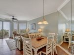Dining Room with Seating for Six at 2404 Sea Crest