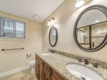 Newly Remodeled Master Bathroom at 2404 Sea Crest