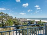 Main Balcony off Living Room with Ocean Views at 2413 SeaCrest