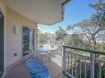 Spacious Balcony at 2416 Windsor II