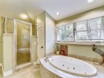 Master Bathroom with Separate Tub and Shower at 24 Baynard Cove