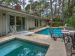Pool and Spa at 24 Baynard Cove