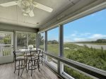 Enclosed Porch at 24 Lands End Court