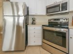 Kitchen with Stainless Steel Appliances at 2504 SeaCrest