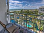 Balcony with Ocean Views at 2506 Sea Crest