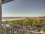Wonderful Views from 2508 Sea Crest from the Main Balcony located off the Living Area